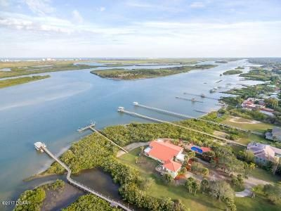 Boater's Dream Property on beautiful Indian River ICW w/private dock, 30,000# lift.  6361sf under air. Beautiful custom gate and tree lined drive leads to the main residence while tropical trees and foliage dot the landscape.  The house has a Bahamian feel with beautiful Brazilian Cherry flooring, chef's kitchen, volume ceilings filled with natural light.  Garage with Artist's Studio above that offers spectacular river views.  Offered at $1.85M  joyce.marsh@sothebysrealty.com