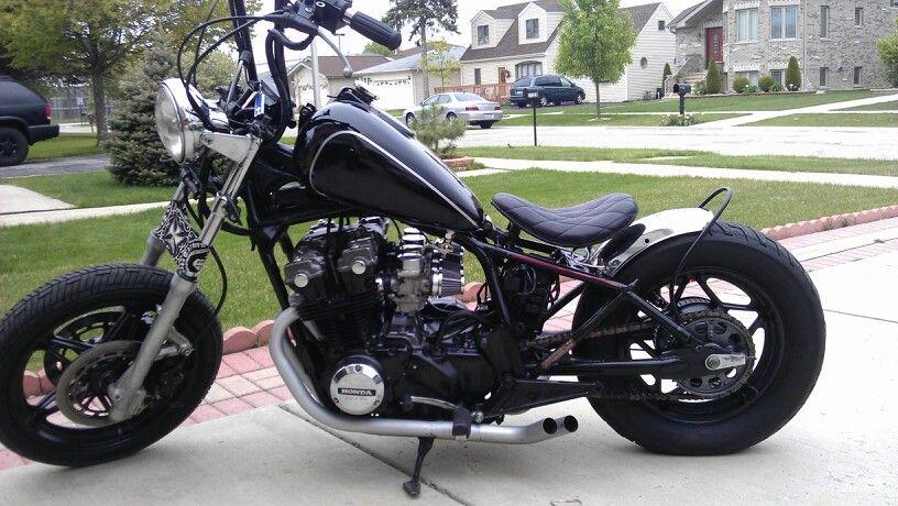 Nighthawk Bobber This Is The Plan Honda Bobber Bobber Bike