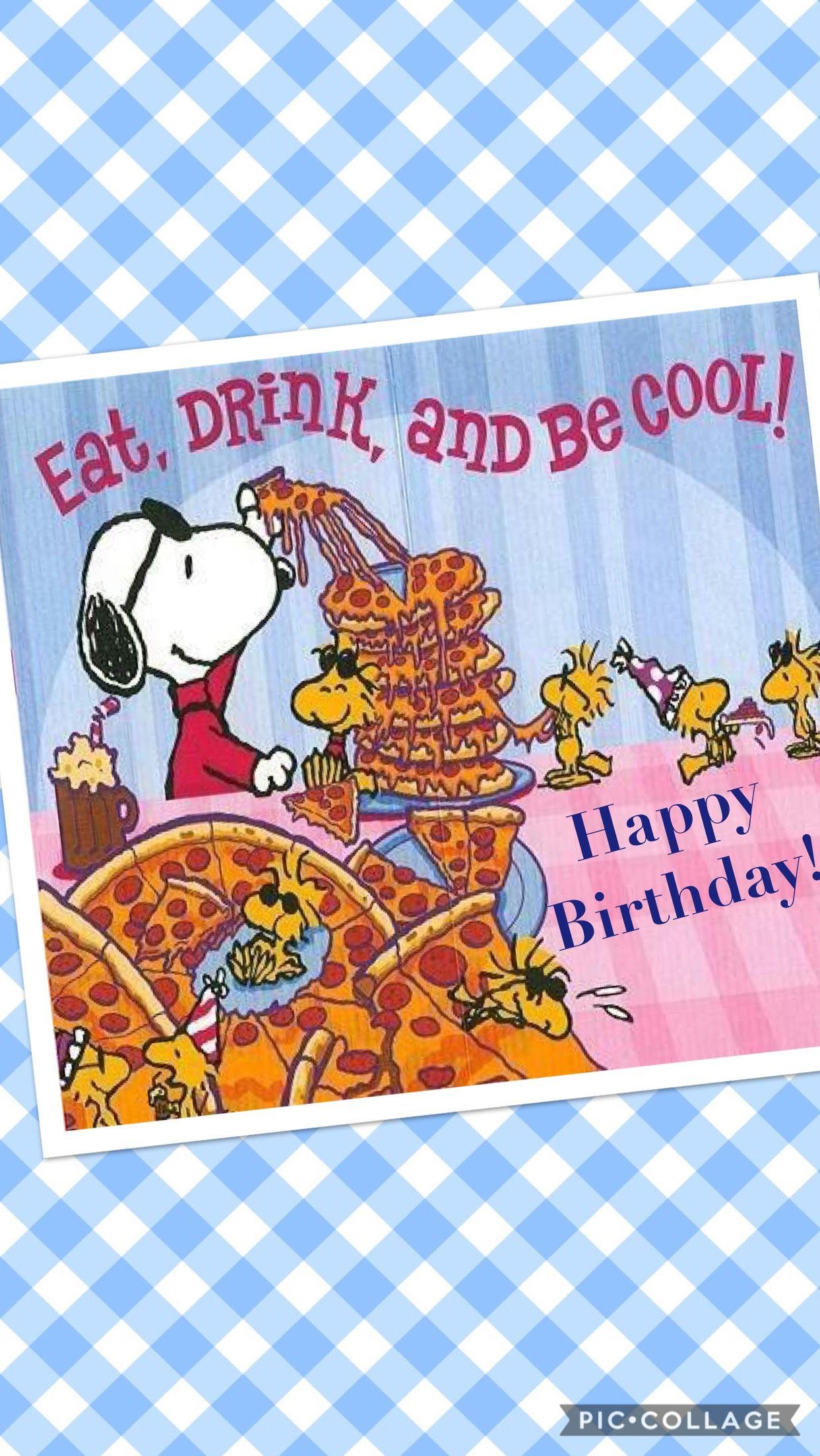 Pin Von Anita Dattolo Auf Snoopy Animierte Geburtstagskarten