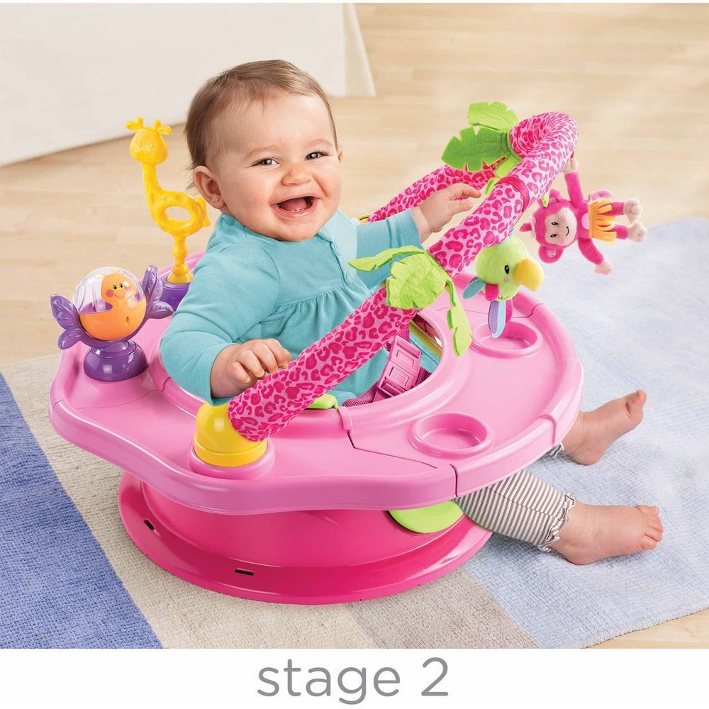abf83c6dc Baby Activity Chair Play Booster Feeding Seat Toys Summer Infant ...