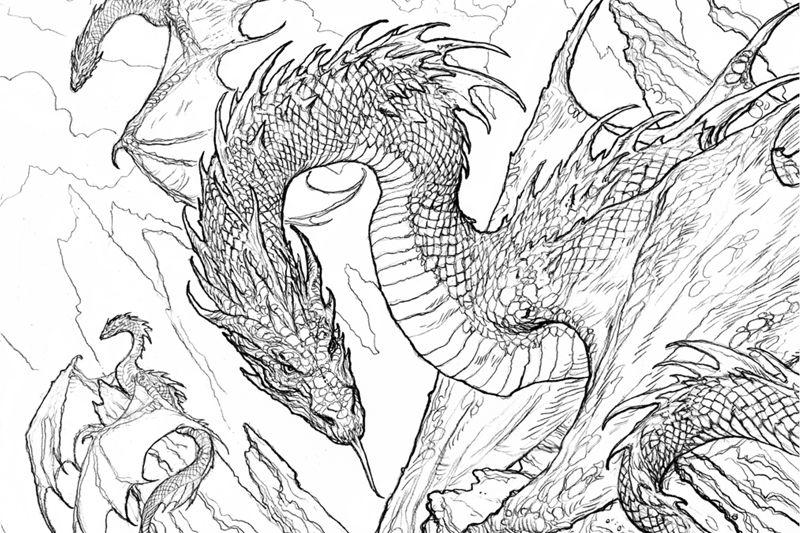 Game Of Thrones Coloring Book Jpg 800 533 Animal Coloring Books Coloring Books Dragon Coloring Page