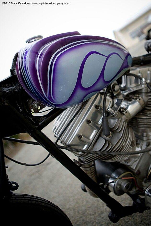 custom paint, gas tank | custom tanks | Custom paint