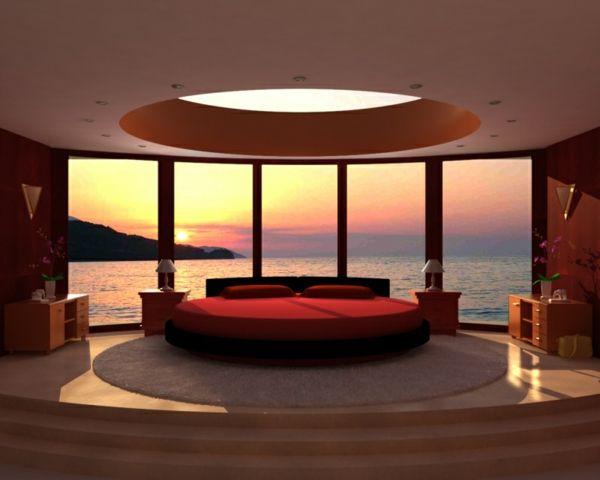 Genial Rundes Bett Luxusschlafzimmer Coole Schlafzimmer Ideen