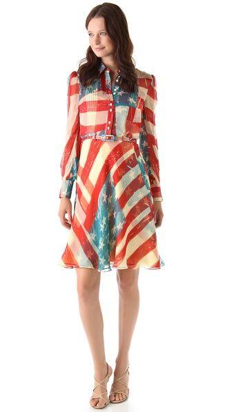 Flag Dress Flag Dress Dresses Print Dress