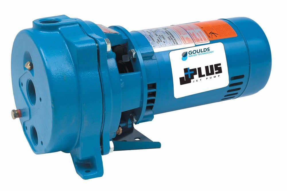 Goulds J15 11/2 HP Convertible Water Well Jet Booster