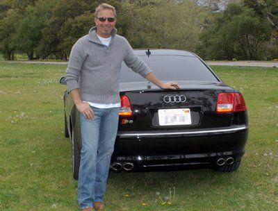 Pin By Elsie May セ On Kevin Costner My Love Celebrity Cars Kevin Costner Black Audi