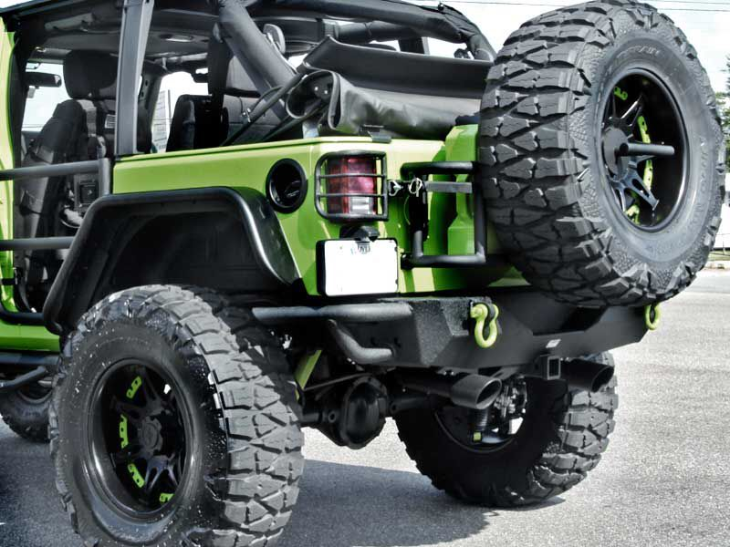 Decked Out Monster Trucks Jeep Vehicles