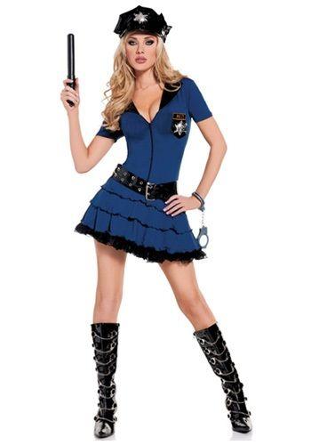 Sexy Police Uniform Costume  5aa31b641ce2