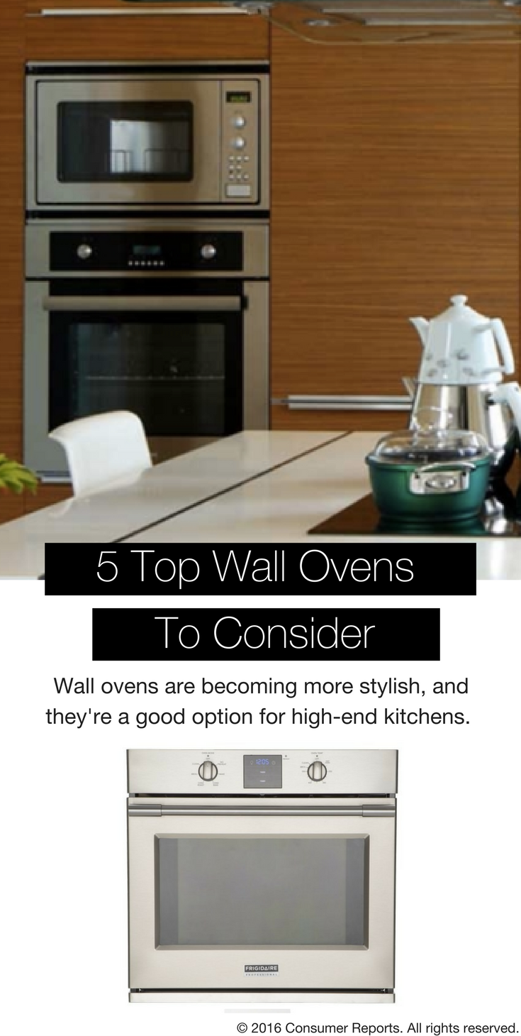 5 Stylish Wall Ovens To Consider