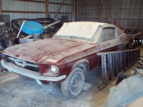 1967 Mustang Fastback barn find!