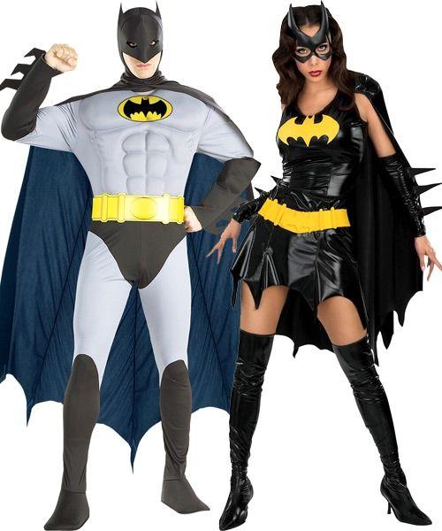 Batman And Batgirl Couple Costumes,Group Halloween