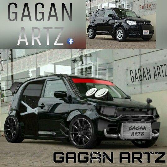 Suzuki Ignis Virtual Tuning Gagan Artz