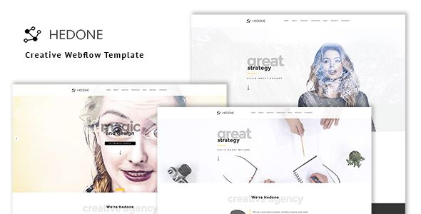 Review & Download Hedone – Creative Webflow Template On this