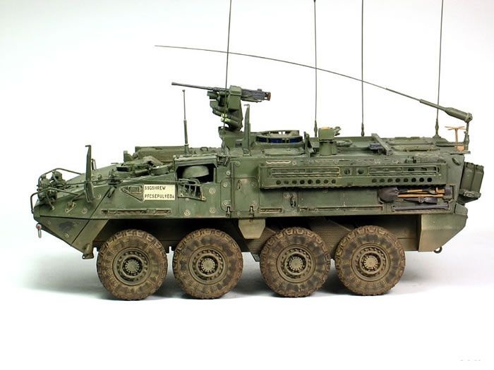 m1130 stryker cv  u0026 tacp 1  35 scale model