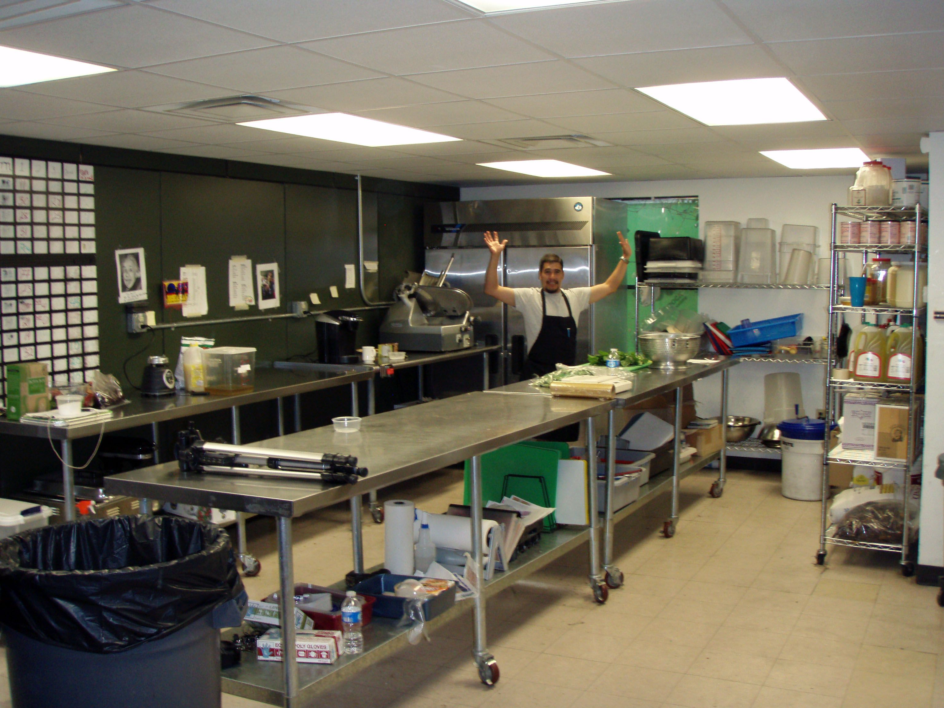 Prep area  The Commercial Kitchen  Kitchen Professional