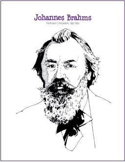 Johannes brahms composer coloring page httpmakingmusicfun johannes brahms composer coloring page httpmakingmusicfunhtmfprintitfreeprintableworksheetsbrahms coloring pagem fandeluxe Choice Image