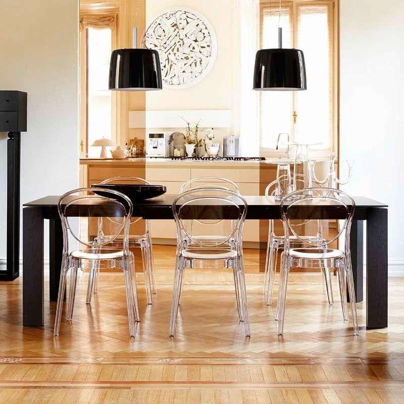 en design transparent Parisienne Chaise plexi Connubia® en cFTl31KJ