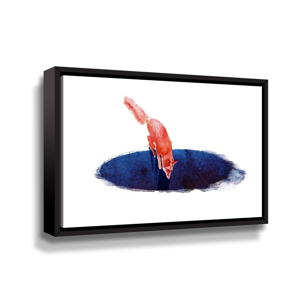 Artwall jump into nowhere by robert farkas framed canvas