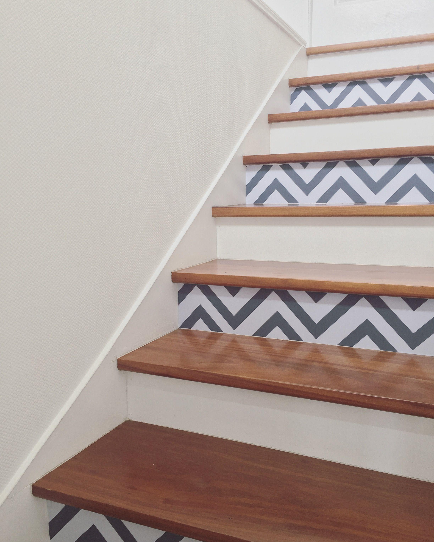 Escaliers contremarches décoration home diy | home | Pinterest ...