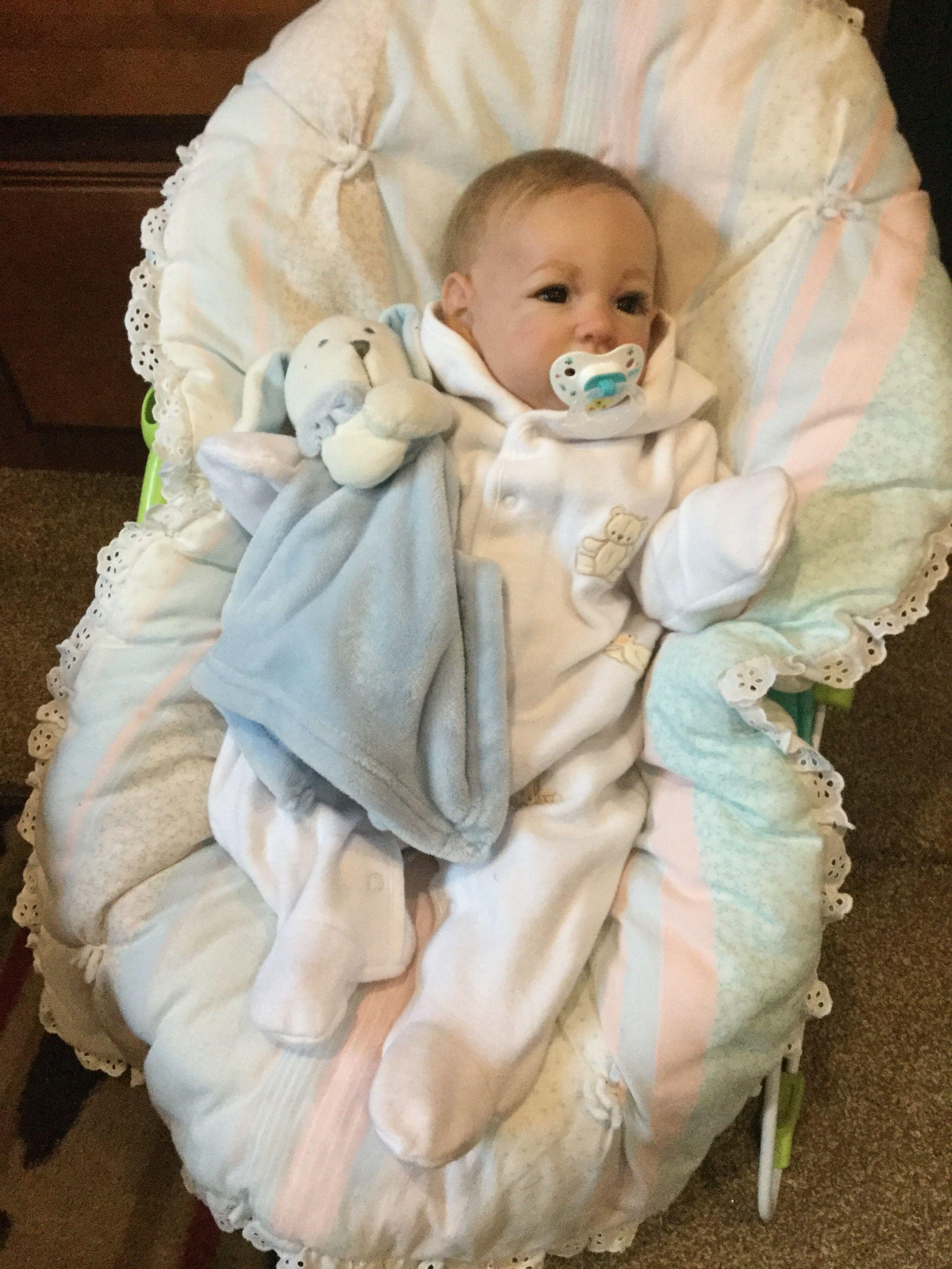Hunter James reborn   Realistic baby dolls, Reborn babies ...