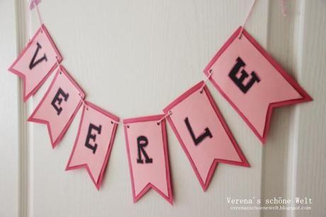 Ideen für das Kinderzimmer! DIY Namensschilder :: DIY Banner ideas ...