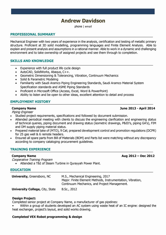 20 Mechanical Design Engineering Resume In 2020 Engineering Resume Templates Mechanical Engineer Resume Engineering Resume