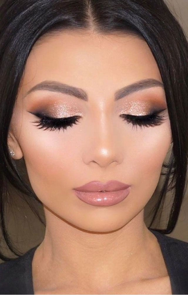 wedding makeup for brunettes best photos | Wedding makeup ...