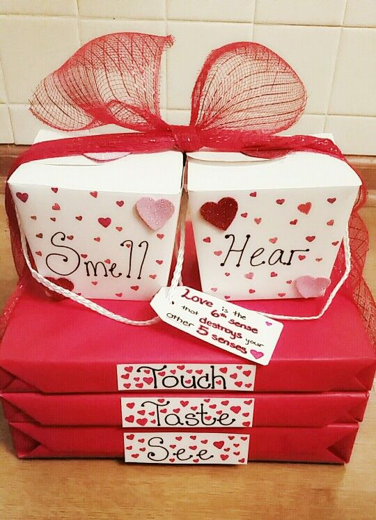 """Love is the 6th sense that destroys your other 5 senses."" Valentine's day gift"