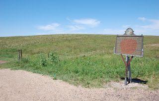 Site of Laura and Almanzo's homestead in Dakota, where Rose Wilder was born