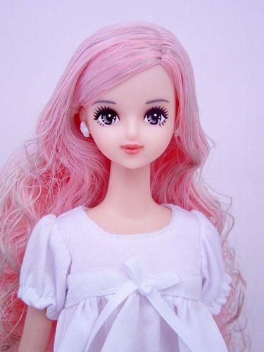 Jenny's Friend w Pink Hair