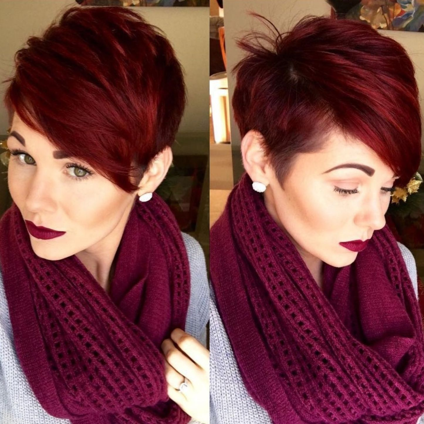 short shag hairstyles that you simply canut miss in