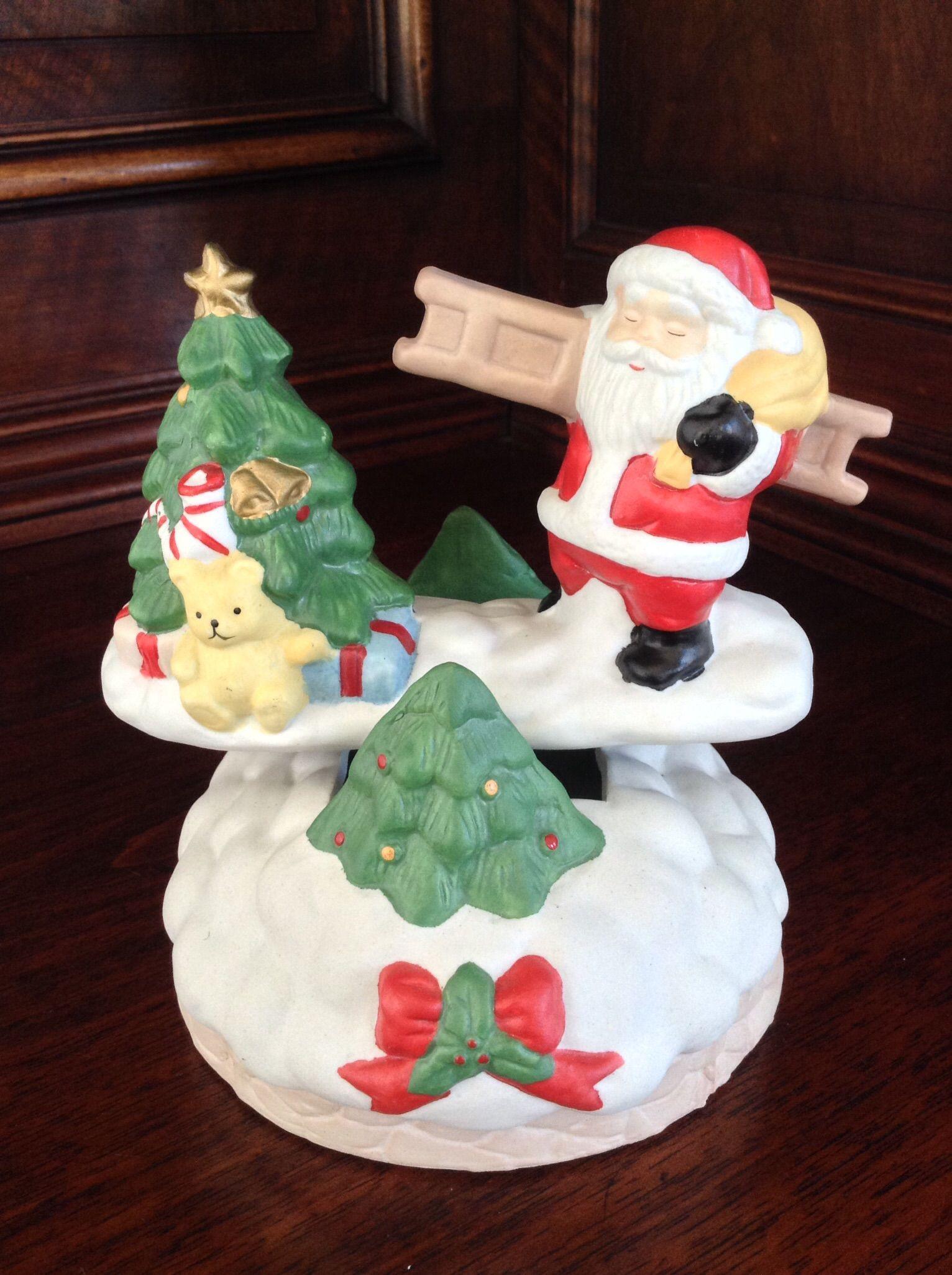 Santa And Friend Music Box