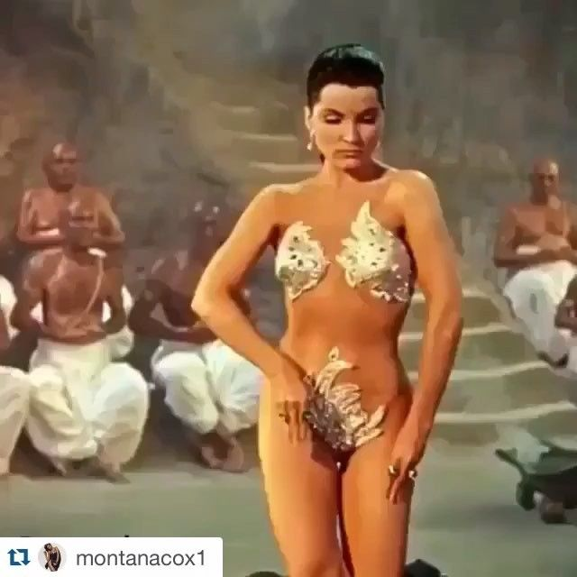 Mesmerised by Debra Paget in The Indian Tomb. Now this is ...