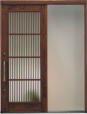 新築やリフォームにおすすめ 木製の玄関引き戸 日本製です