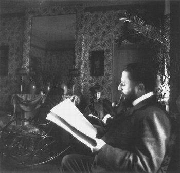 Jean Edouard Vuillard, Portrait of Misia and Thadée Natanson, 1890's