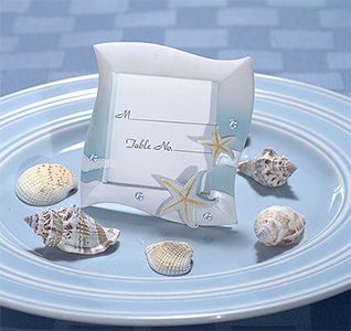 Place Card Frame Beach Theme In Blue And White Colors Buy Holders Wholesale Wedding Supplies Discount Favors Party