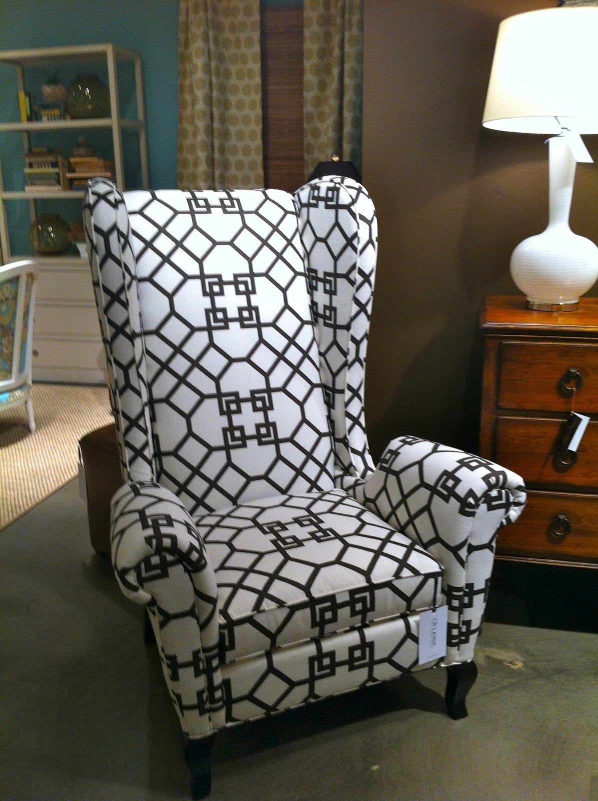 CR Laine in Windsor Smith fabric on Lisa Mende Design
