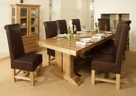 Country Collection Oak Dining Table  Home  Pinterest  Table Magnificent Oak Dining Room Table Design Decoration