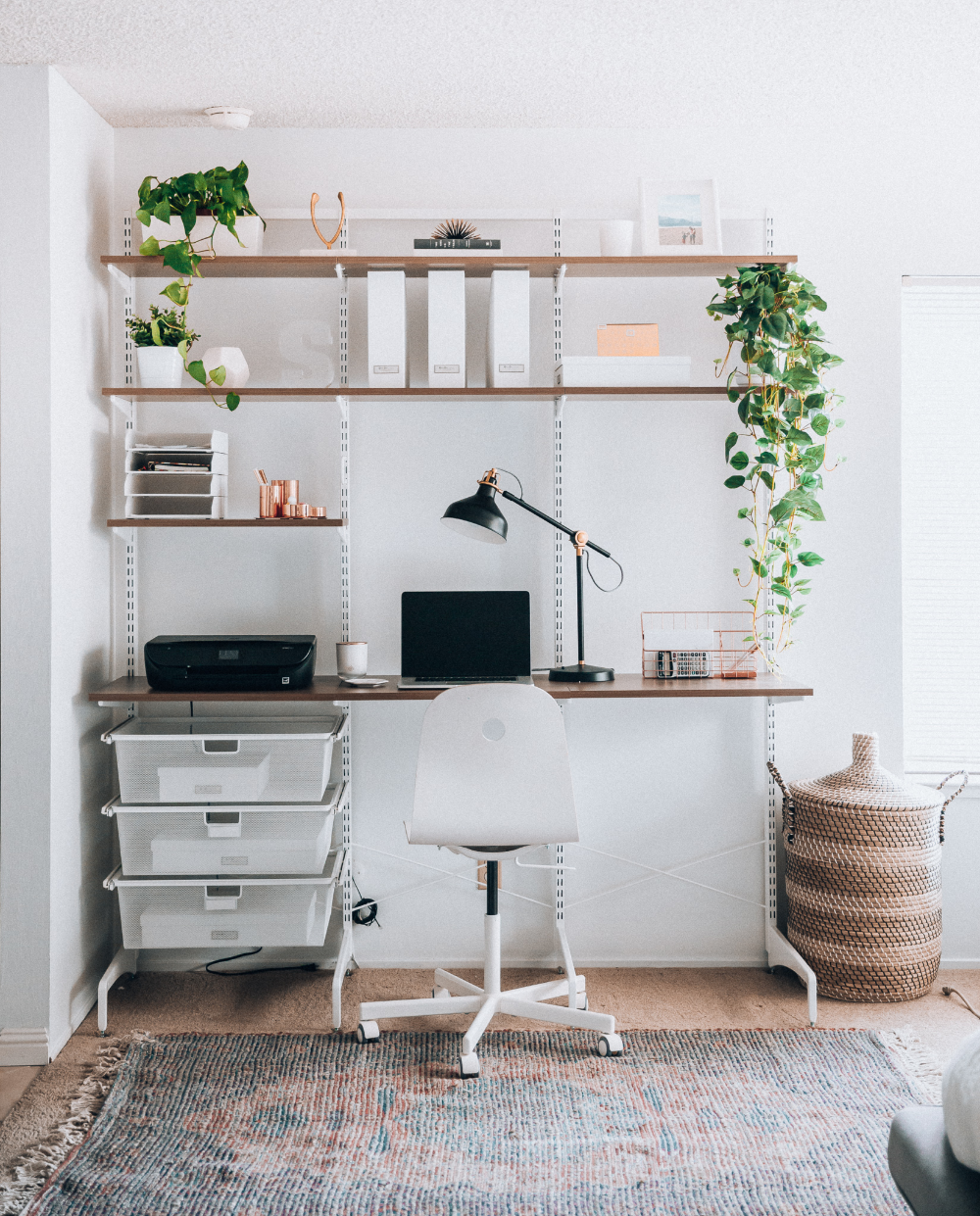 Modern Minimalist Home Office Space Ideas The Girl In The Yellow Dress Modern Home Office Interior Design Living Room Study Room Decor