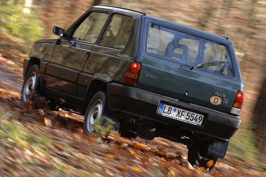 Fiat Panda 4x4: Der kleine Wald-Erdbär - auto motor und sport | Fiat ...