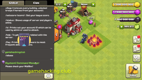 Clash Of Clan 10 134 6 Private Server 2018 (With Commands
