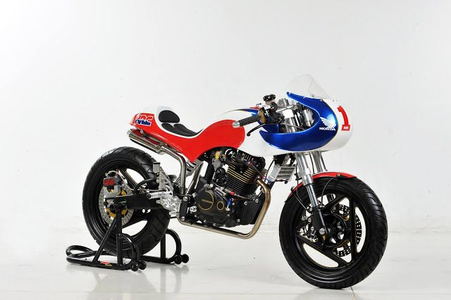Honda Tiger Neo Cafe Racer - RocketGarage Cafe Racer