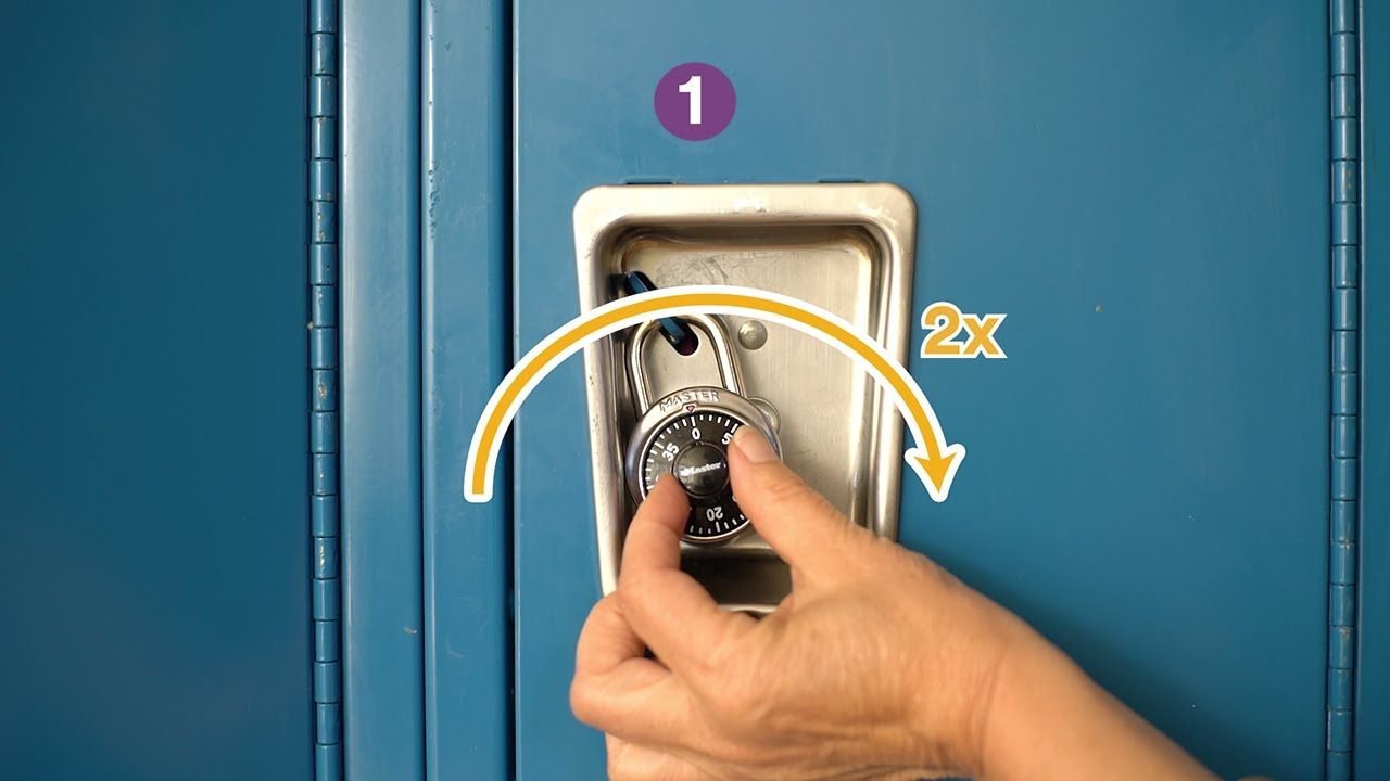 How to Open a Combination Lock Tips, Tricks and a Cheat