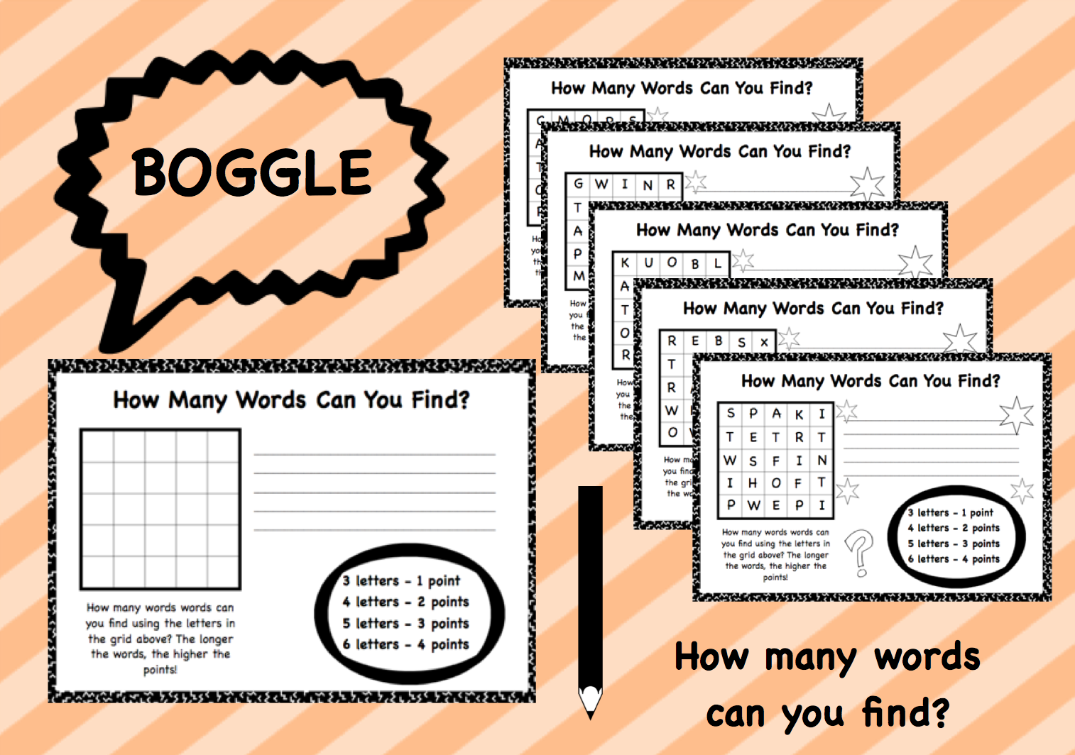Have Fun Playing Boggle With Your Students Have Them Find
