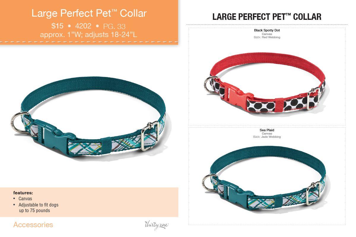 Large Pet Collar Thirty One Https Www Mythirtyone Com