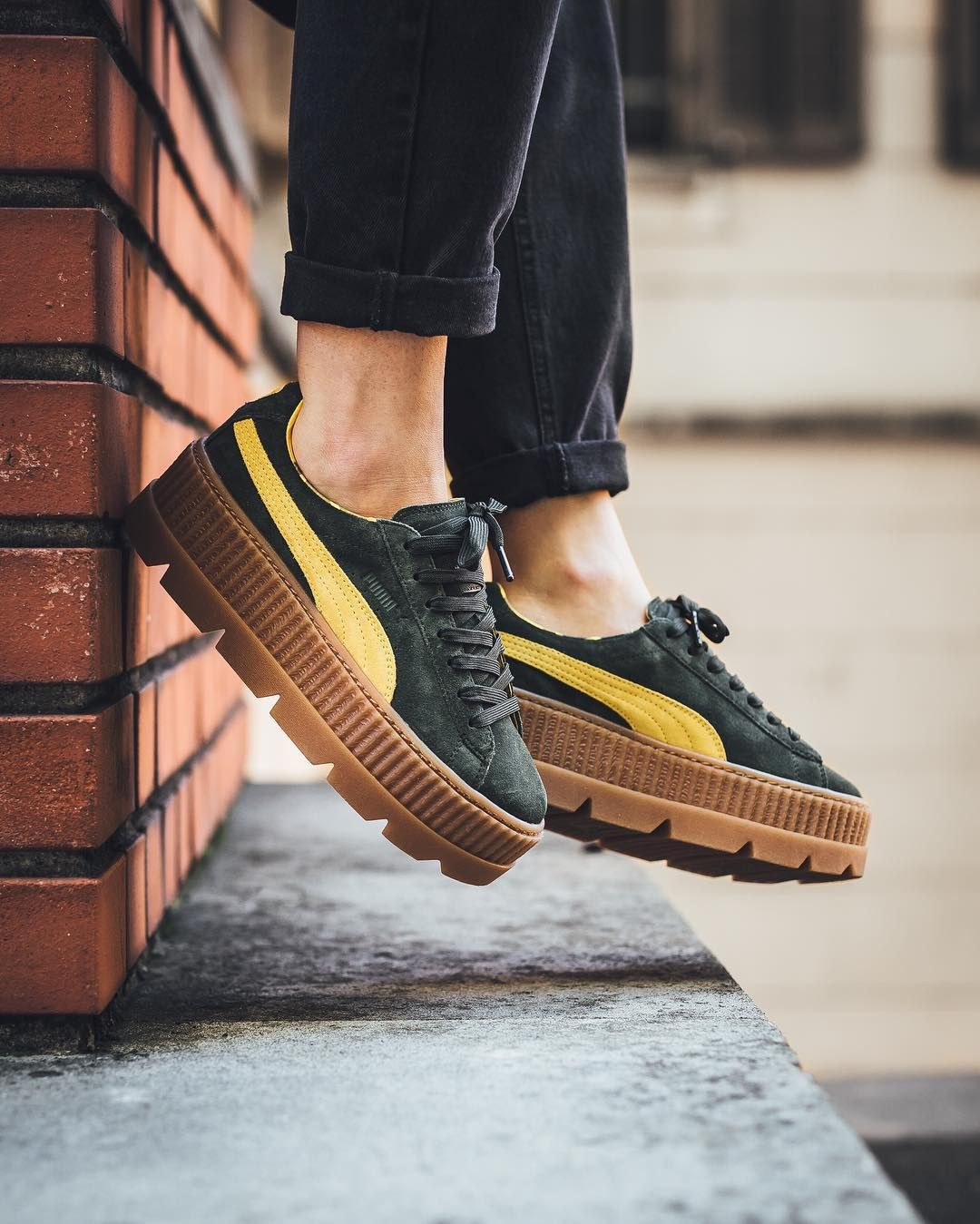 best cheap 8faac a2c89 FENTY by Rihanna x PUMA Cleated Creeper