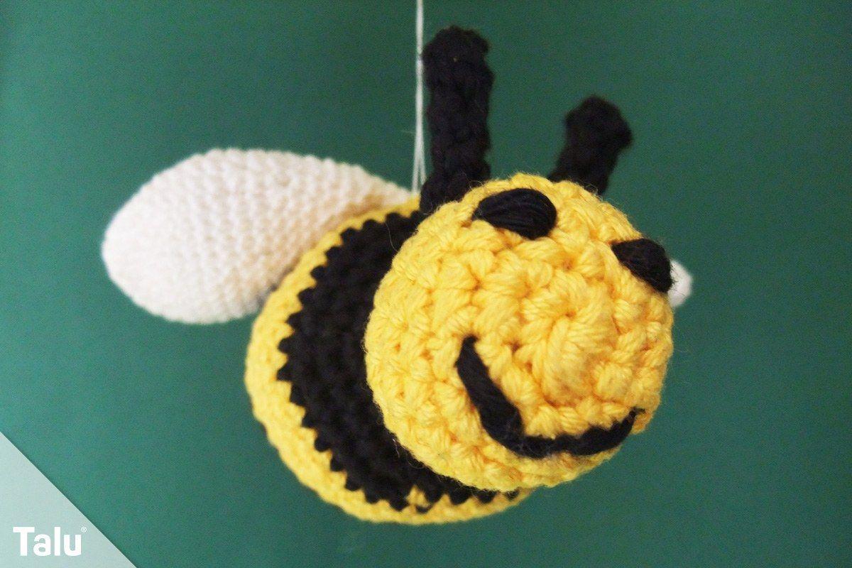 Biene Häkeln Kostenlose Anleitung Für Eine Amigurumi Biene Ideen