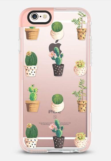 low priced ed00f 1e76f Cactus and Succulent - Transparent | Phone cases | Iphone 7 cases ...