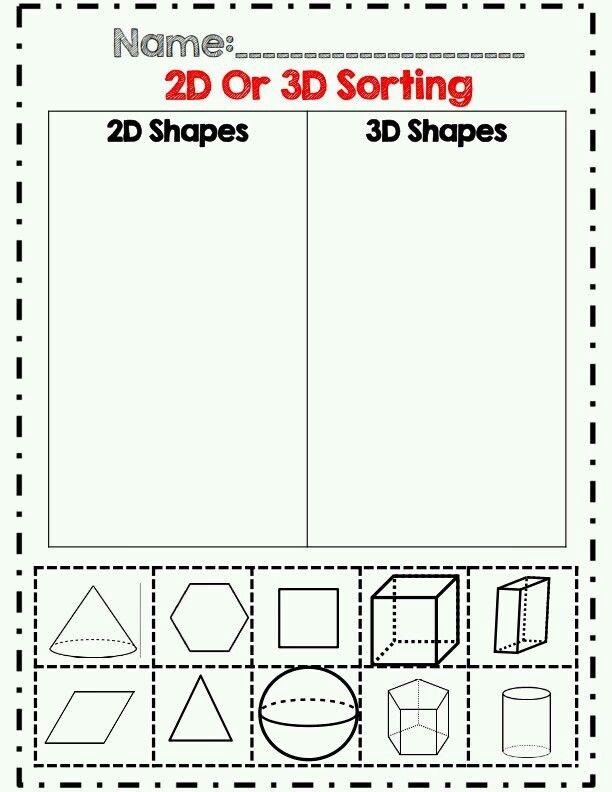 Pin By Sor Osorio On Geometria Kindergarten Worksheets Printable Kindergarten Worksheets Shapes Worksheet Kindergarten Sorting shapes kindergarten worksheets