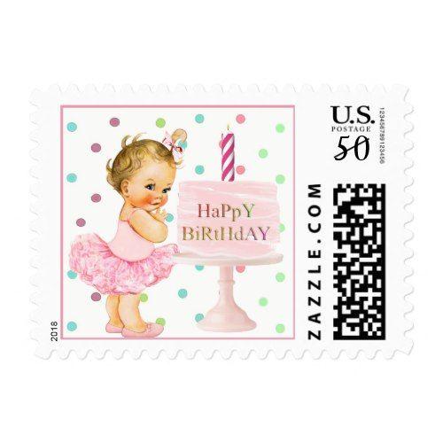 First Birthday Stamp